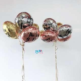 """18"""" Personalised Round Foil Balloon"""