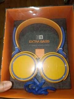 EB Extra Bass stereo Headphones