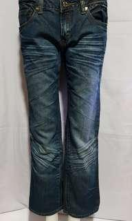 JUICY GIRL 3/4 Denim Jeans Size 28 on tag