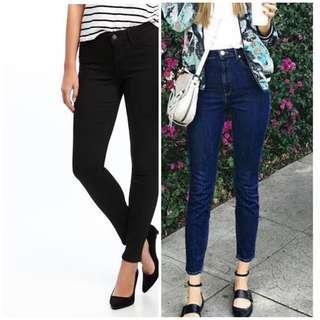 Like New Guess Skinny Jeans Size 26-27 Coach Kate Spade MK Zara Lacoste