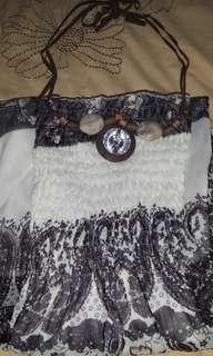 SALE✔ Dress Kemben Chiffon