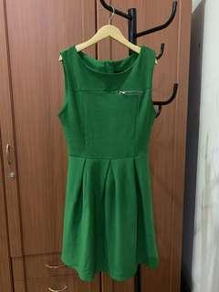 #maudompet zara dress