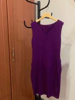 #maudompet purple dress