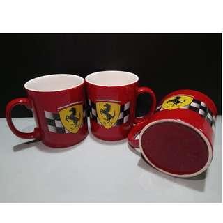 Ferrari Coffee Mug 1996 Red 法拉利咖啡杯