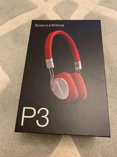 B & W P3 headphones