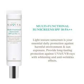 Navita Multi-functional Sunscreen SPF 50PA++   30ml