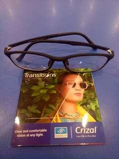 Prescription Glasses with Transition lense Package