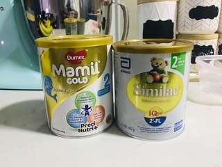 Dumex Mamil Gold & Similac Step 2 (400gm)