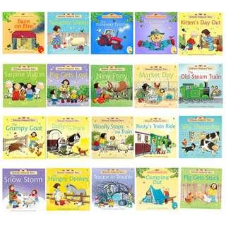 🚚 Usborne Farmyard Tales and First Experiences Series (20 Books)