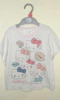 #BAPAU Kaos anak hello kitty