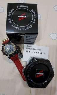 ⭐⭐⭐G SHOCK GwG 1000GB-aka Red Dragon .BNIB