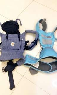 Ergobaby original and baby carrier with hip