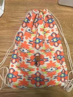 Roxy 索繩布袋 bag