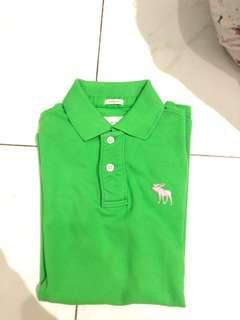 Kaos polo Abercrombie and fitch ori