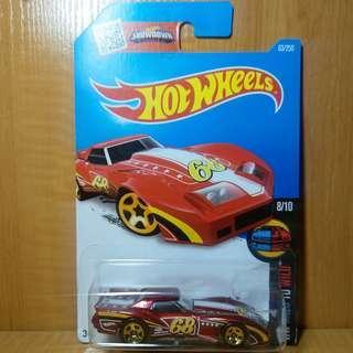 Hotwheels Chevrolet Corvette C3 Greenwood 1976