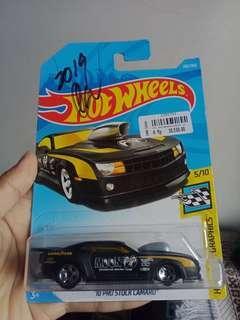Hotwheels 10 Pro Camaro with M👀neyes Signature