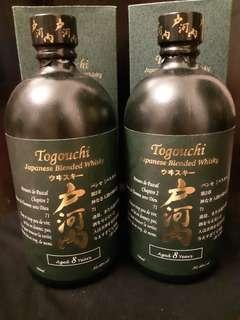 日本威士忌戶河內威士忌8年 Togouchi Blended whisky