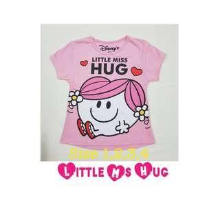 🚚 💗 Little Miss Hug girl tshirt