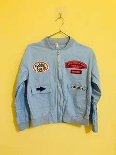 夾克外套(胸寬48公分、衣長51公分)