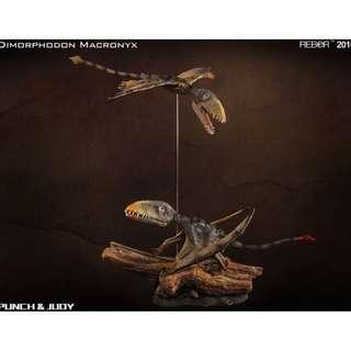REBOR 1/6 scale Dimorphodon Pair (Rare)