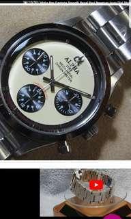 Alpha Chronograph Paul Newman Daytona