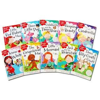 🚚 Reading With Phonics [10 Books + CD]