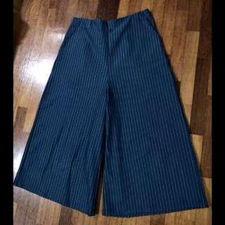 Padini pinstripe culottes