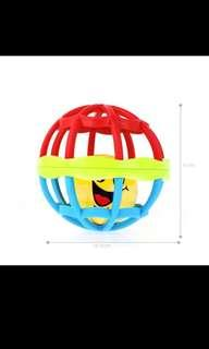 Baby Soft Rattle Ball Toy Teether