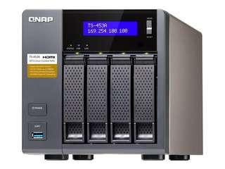 QNAP TS-453A NAS (with 4x3GB WD Red HDDs)
