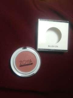 Blush on zoya cosmetics