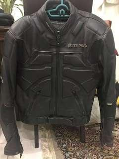 #FEBP55 RICHA Riding leather jacket  #SBUX50