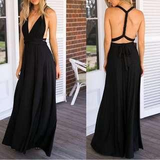 Gown for rent / Black Infinity Dress