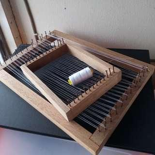 Wooden loom for Weaving