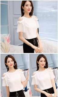 Women's Korean style chiffon top