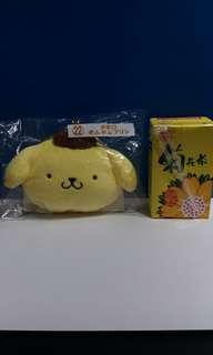 原裝正版一番賞SANRIO 布甸狗(散紙包)