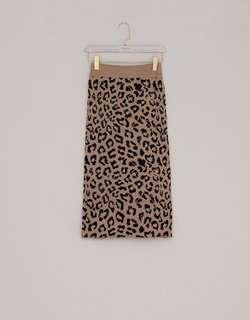 Lovfee 豹紋裙全新S