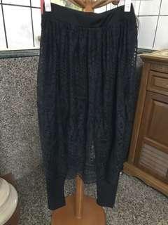 🚚 正韓蕾絲褲裙