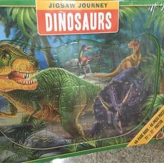 BNIP Jigsaw Journey Dinosaurs
