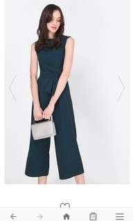 77a0598f505e BNWT - Love Bonito s Sanae Plaid Print Notch Neck Jumpsuit