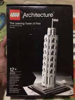 Jual rugi LEGO Menara Pisa