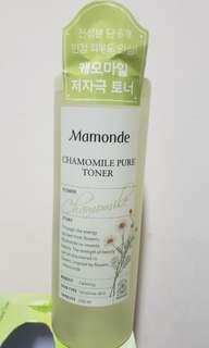 Mamonde chamomile pure toner