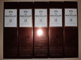 Macallan 12 日版 舊裝