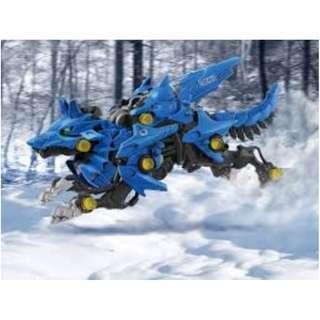 全新盒裝  Tomy Zoids索斯機械獸藍色機動獵狼Zoids Wild-ZW16 Hunter Wolf (M)  激戰本能