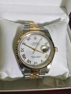 Rolex half gold 16233