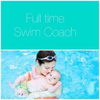 Swim coach (full time)