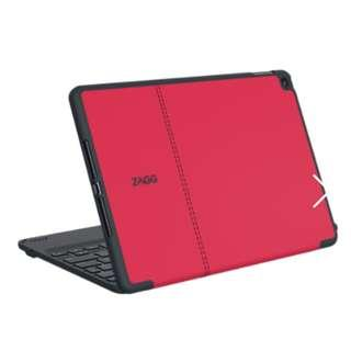 Original ZAGG  Case, Keyboard for iPad Pro 9.7 Air2 Red