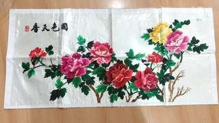 Home decor; design & craft; embroidery chinese painting