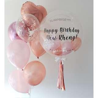 24 inch Personalised Helium Balloon