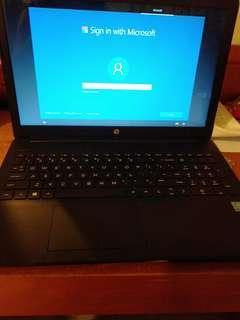 Notebook HP 15 da0031tu 1week used