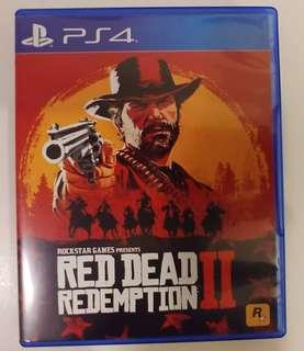 PS4 Red Dead Redemption 2 RDR2